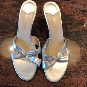 Nine West silver sandal